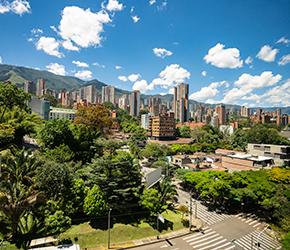Vuelos Bogotá a Medellín
